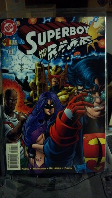 Superboy & The Ravers #1 autographed by Paul Pelletier