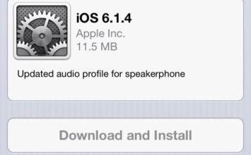 Apple特地為iPhone5發佈iOS6.1.4更新檔
