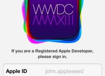 Apple推出WWDC2013專屬APP,透露iOS7訊息?