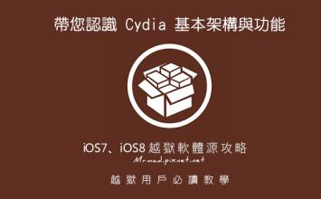 [iOS iPhone iPad]JB後Cydia基本操作認知,與iOS6~iOS9 Cydia軟體源推薦與教學