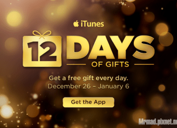 Apple將在聖誕節開始贈送連續12天禮物 Apple 12 Days of Gifts App