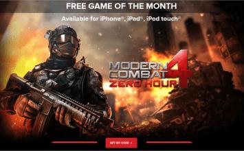 [限時免費]趕緊來搶免費現代戰爭4:決戰時刻modern combat 4 : zero hour下載代碼