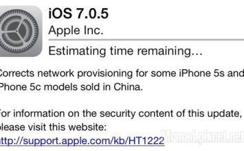 [iOS7 JB]蘋果替用戶5s、5c機種推出iOS7.0.5更新,JB用戶該不該更新?