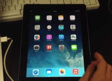 天才越獄黑客winocm展示iPad2切換iOS5,iOS6,iOS7系統