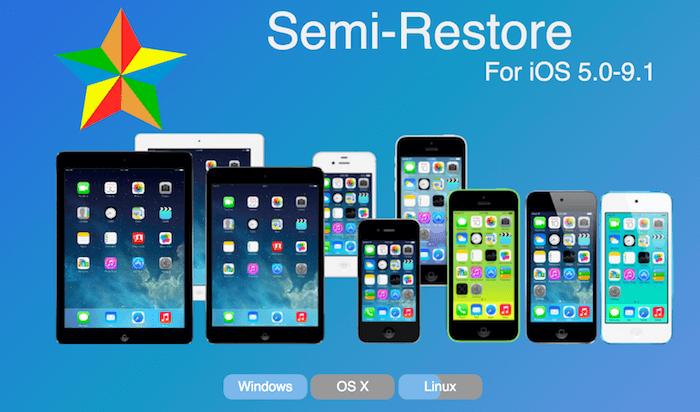 Semi-Restore iOS9.1