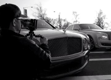 iPhone、iPad在戰影音傳奇 透過iPhone5s拍攝賓利Bentley廣告
