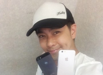 驚爆!蘋果代言人林志穎秀最新iPhone6