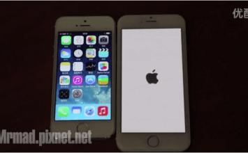 驚人iPhone6 4.7、5.5吋實機流出,包含iPhone6開機畫面
