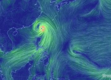 [3C天氣]即時全球夢幻天氣動態風速網站