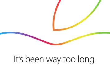 蘋果邀請函正式發佈新iPad即將亮相,我們10月16日不見不散!