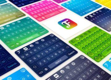 [限時免費]超級炫麗!FancyKey for iOS8 多功能自訂英文鍵盤背景、字體主題工具