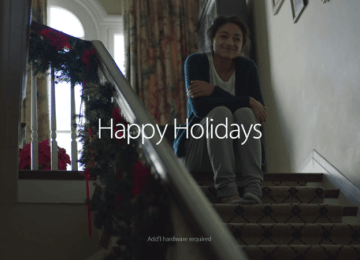 蘋果2014年最後一個感人聖誕節廣告「The Song」