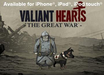 [限時免費]趕緊來搶iOS遊戲「Valiant Hearts: The Great War」iGN免費下載代碼