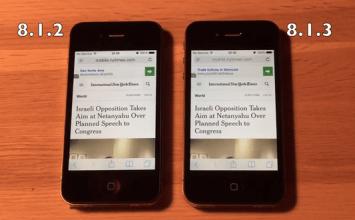 完美解密!iPhone4s用戶要不要升級iOS8.1.3問題?
