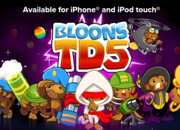 [限時免費]教您領取免費iGN:TD大作「猴子射氣球5 bloons-TD5」