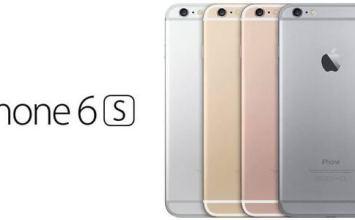 最新iPhone6s、iPhone6s Plus總硬體規格表、價格與發售日期