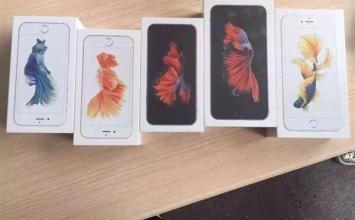 大陸首發四種顏色iPhone6s、iPhone6s Plus開箱!電池、跑分、記憶體全曝光