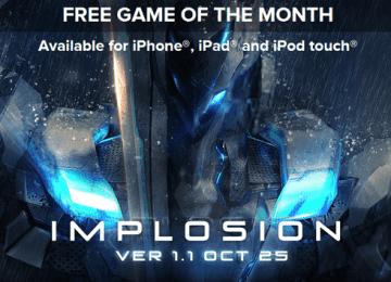 [iPhone/iPad限時免費]iGN免費下載代碼:國內知名3D動作遊戲「聚爆 Implosion」