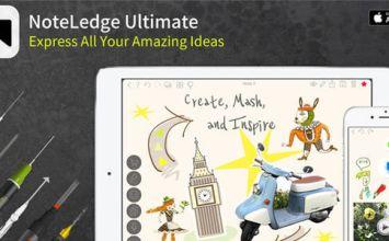[iPhone/iPad限時免費]年終好禮內購限免!全能影音手繪筆記本 NoteLedge Ultimate