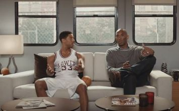 Apple邀請NBA傳奇巨星柯比布萊恩(Kobe Bryant)拍攝Apple TV4廣告