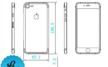 iPhone7與iPhone7 Plus設計圖再次流出!多了無線充電功能