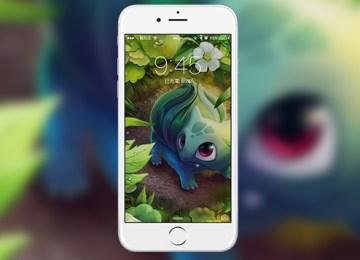 [桌布下載]精靈寶可夢 Pokemon Go 桌布 for iPhone