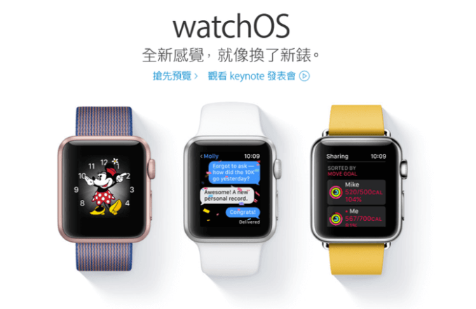 watchOS-Chinese-website