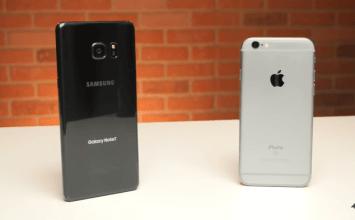 測試結果出爐!Galaxy Note 7速度依舊比不上 iPhone6s