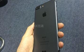 iPhone7 Plus新顏色太空黑色近照與影片曝光!視覺與質感真的很棒