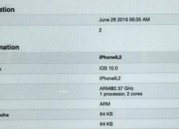 疑似iPhone7 Geekbench跑分曝光?假的!