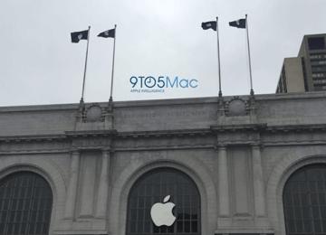 iPhone7快來了!蘋果開始佈置2016年秋季蘋果產品發表會場地