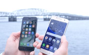 國外實際海底防水測試:iPhone 7防水能力大勝Galaxy S7