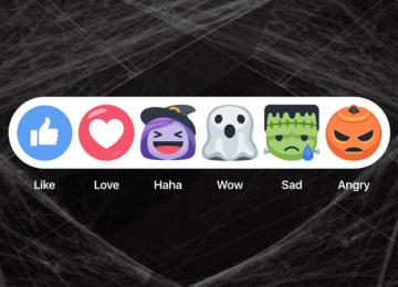 Facebook 推出萬聖節活動!巫婆南瓜表情符號、骷髏直播面具任你玩