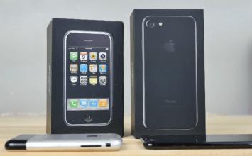 iPhone歷經九年,iPhone 2G 與 iPhone 7 外觀與功能對比差異