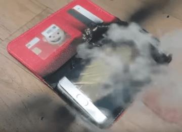 Samsung召回無效!新版 Galaxy Note 7 電池依舊會燃燒爆炸