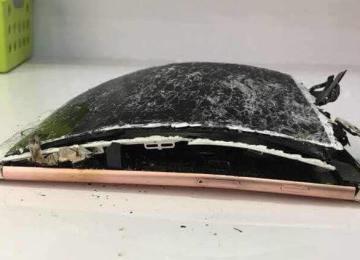 分析大陸雲南地區發生iPhone 7 Plus摔落後電池起火燃燒事件