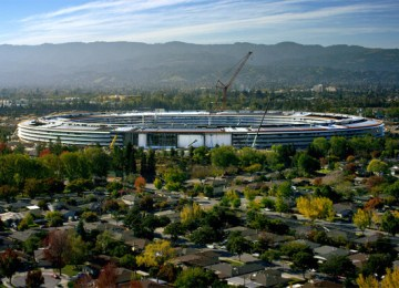 Apple 總部最新命名蘋果公園Apple Park!4月開放員工進駐