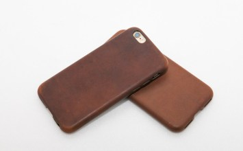 知名 NOMAD 品牌 Leather Case for iPhone 皮革保護殼開箱