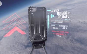 iPhone 7 從外太空掉落回地球測試居然完好無缺