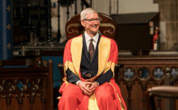 蘋果CEO庫克勉勵即將畢業學生:別為了錢而工作