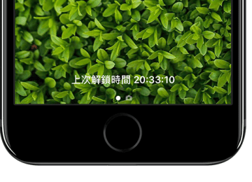 LastTimeUnlocked 解鎖畫面隨時記錄iPhone或iPad上次解鎖時間