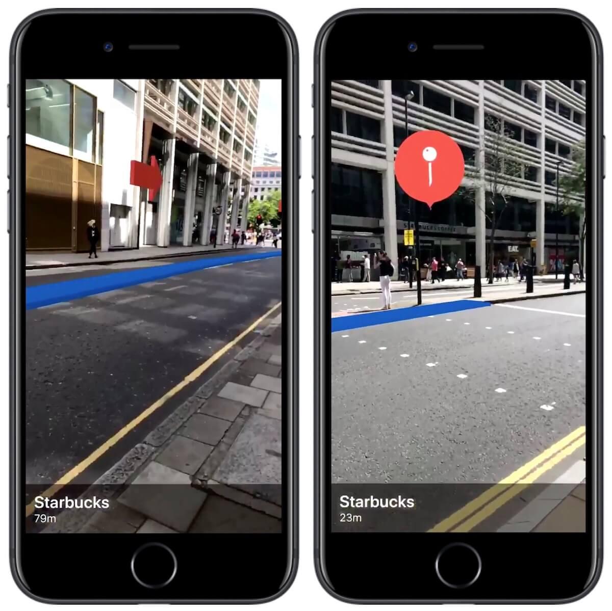 iOS 11地圖結合ARKit解決了路痴常迷路問題