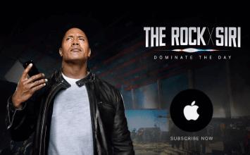 蘋果找來巨石強森合作推出結合Siri科技電影《Rock X Siri》