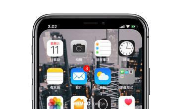 [教學] 線上快速製作隱藏iPhone X瀏海桌布圖檔