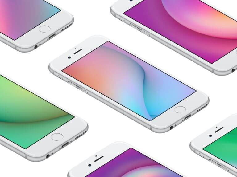 免費下載FaceBook設計團隊推出七款精美iPhone桌布
