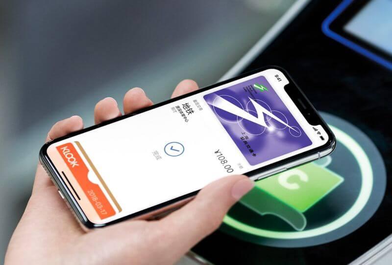 北京上海可透過Apple Pay當成公交卡,台灣悠遊卡、一卡通有望啟動