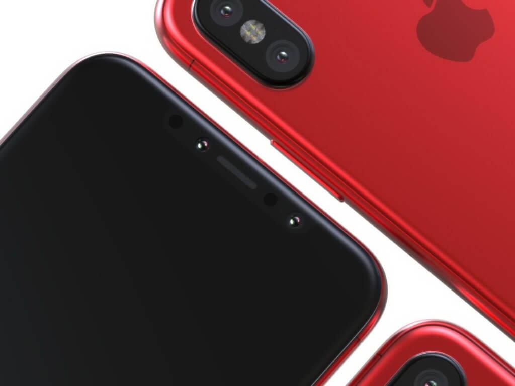 爆料大神:iPhone 8 RED 紅色版本可能即將到來