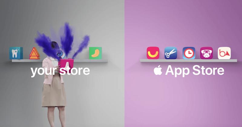 蘋果推出超逗趣App Store和人像光線廣告!暗示Android轉iPhone相當容易