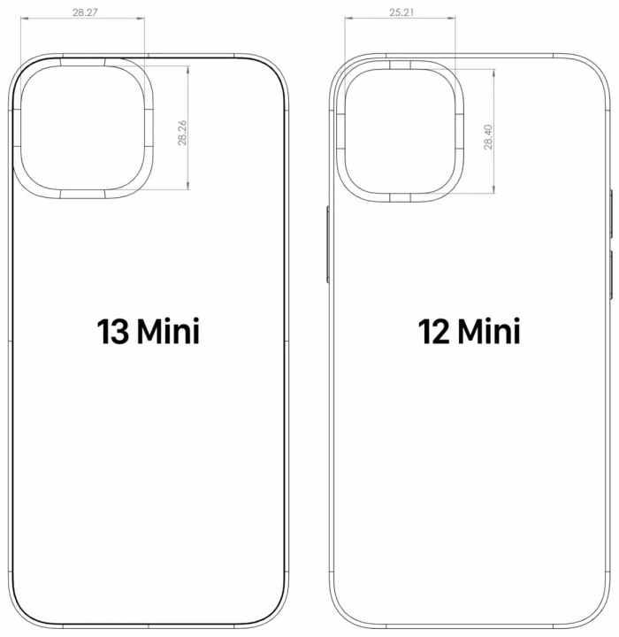 iPhone 13 CAD设计图泄漏,暴露出6个主要更改和改进