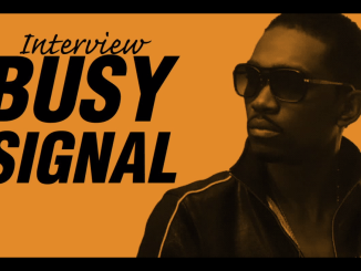 Busy Signal Interviews wiith Mighty Crown